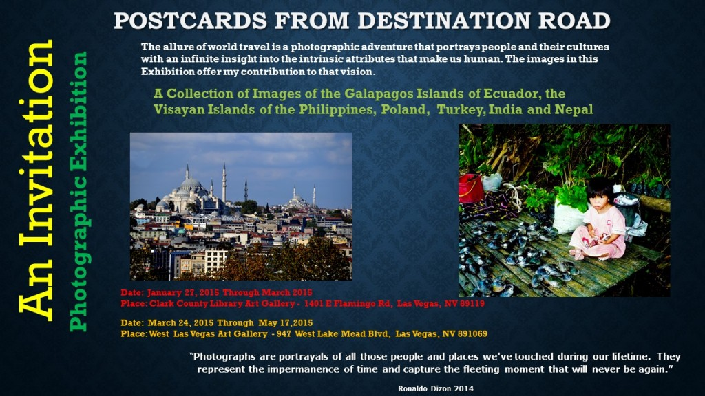 Invitation to Postcards from Destination Road