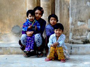 Children of Sele, Myanmar