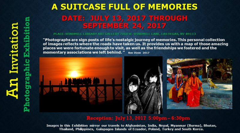 "An Invitation – Photographic Exhibition – ""Suitcase Full Of Memories"""