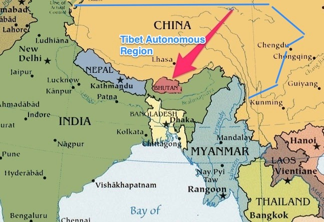 map_bhutan_arrow_tibet_med