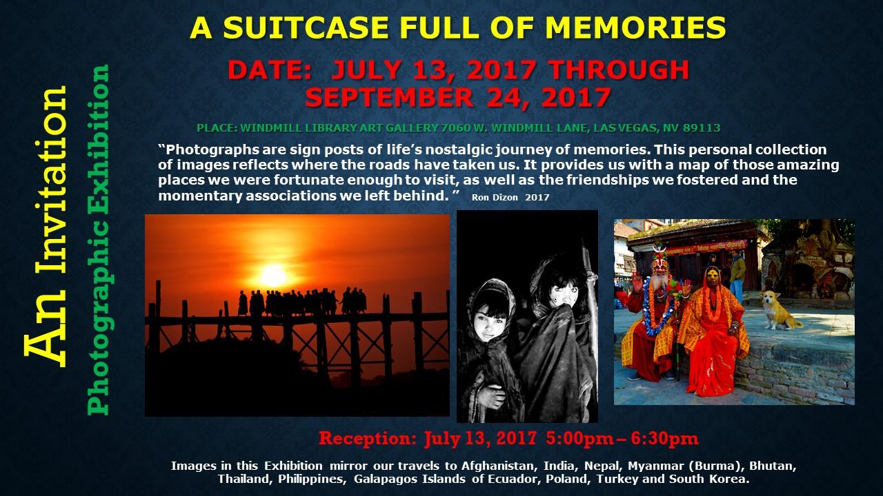 An Invitation - Photographic Exhibition